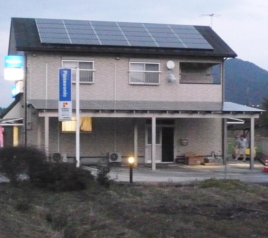 屋根+カーポートで発電量アップ! 「テクノポート II」