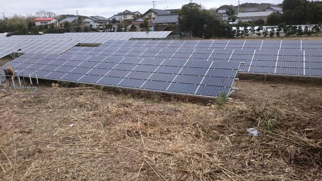 茨城県鉾田市大竹発電所