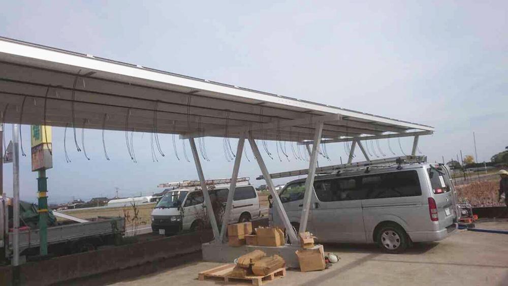 佐賀県 太陽光専用カーポート