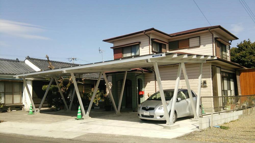 鹿児島県鹿屋市 太陽光専用カーポート