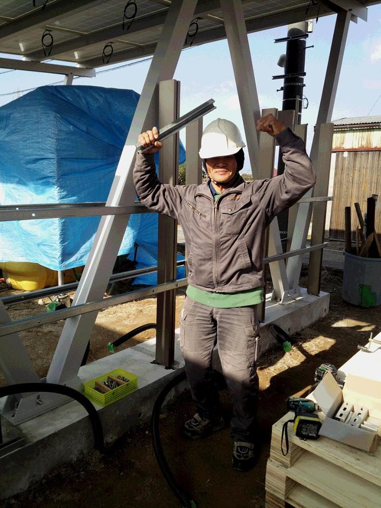 佐賀市 太陽光専用カーポート