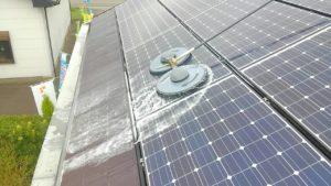 宮崎県 セブンプラザ高鍋店様にて太陽光パネル洗浄