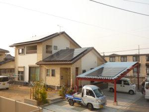 K様邸 太陽光発電工事