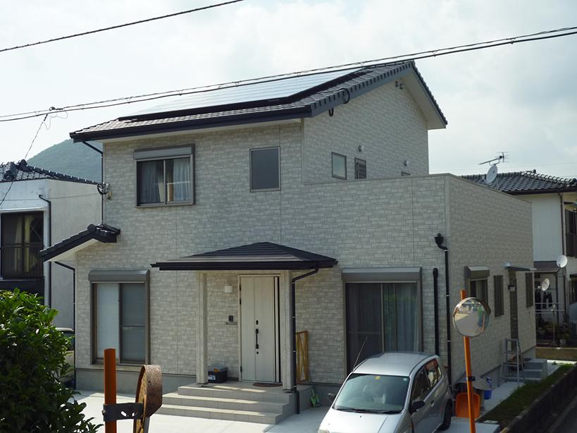 T様邸 太陽光発電工事