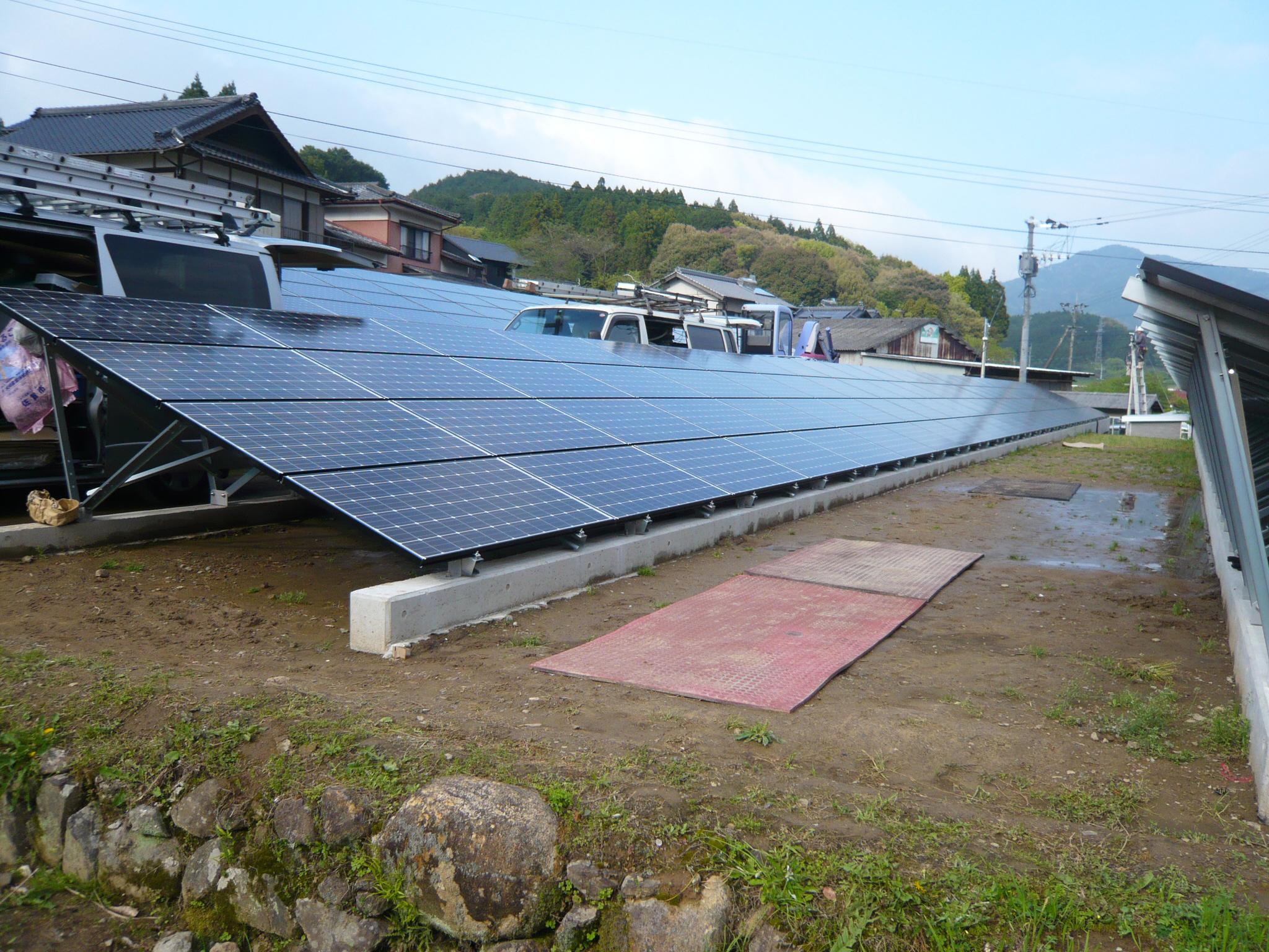 A様邸 太陽光発電工事