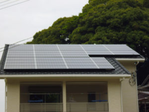 N様邸 太陽光発電工事