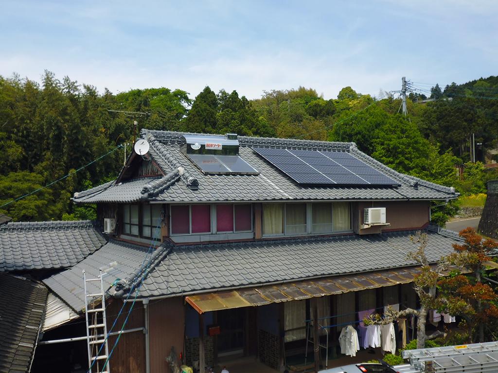 S様邸 太陽光発電工事