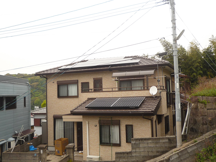 F様邸 太陽光発電工事