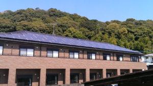 K様 アパート 太陽光発電工事