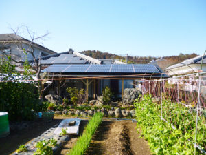 太陽光発電システム工事例