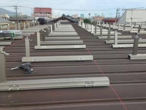 折半屋根用架台