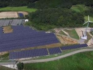 「太陽光発電」「小型風力発電」のダブル発電所